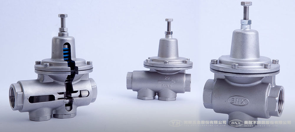 Bpr Stainless Steel Direct Acting Pressure Reducing Valve
